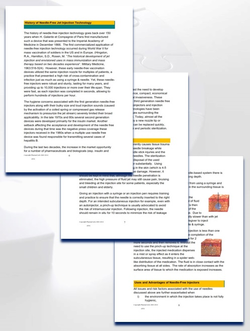 drug delivery technology reports
